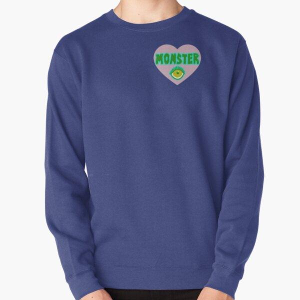 Monster Heart - Pink Pullover Sweatshirt