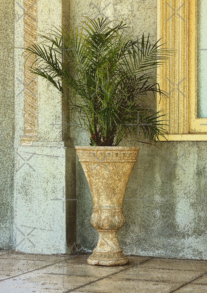 Decorative Planter by CarolM
