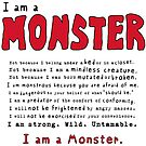 Monster Creed - Red by ArtsAflame