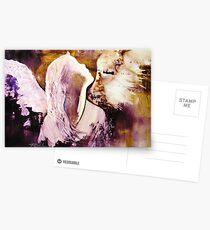 EN1009 Angel Painting Postcards
