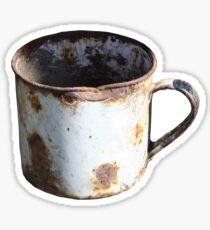 Rusty Mug Sticker