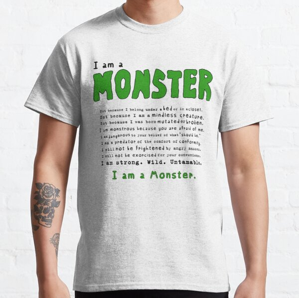 Monster Creed - Green Classic T-Shirt
