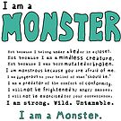 Monster Creed - Teal by ArtsAflame