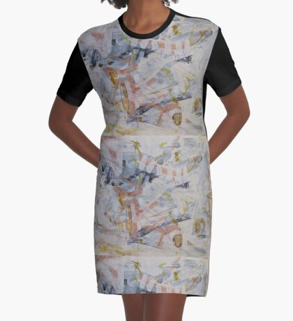 The Point of Confluence 1 Graphic T-Shirt Dress