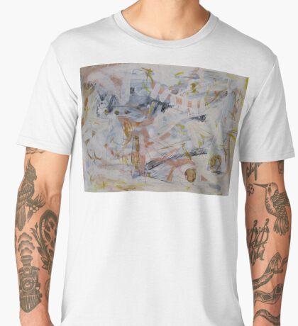 The Point of Confluence 1 Men's Premium T-Shirt