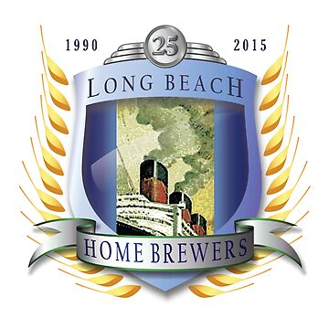 25th Anniversary Logo by LBHomebrewers