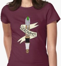 Sonic--Geronimo. Womens Fitted T-Shirt