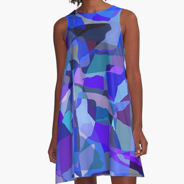 Matisse Blue A-Line Dress