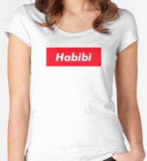 HABIBI Women's Fitted Scoop T-Shirt