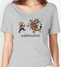 Hobbesouken! - Calivn and Hobbes Mashuip Women's Relaxed Fit T-Shirt
