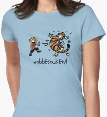Hobbesouken! - Calivn and Hobbes Mashuip Women's Fitted T-Shirt