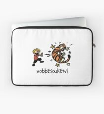 Hobbesouken! - Calivn and Hobbes Mashuip Laptop Sleeve