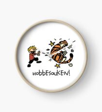 Hobbesouken! - Calivn and Hobbes Mashuip Clock