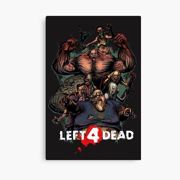 Valve Zombie Simulator Canvas Print