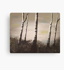 Silence in Nature Canvas Print