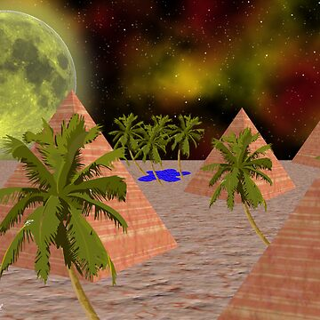 Egyptian Moon by DeanzWorld