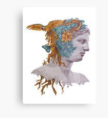 Venus + nature Metal Print
