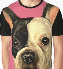 French Bulldog Art Graphic T-Shirt