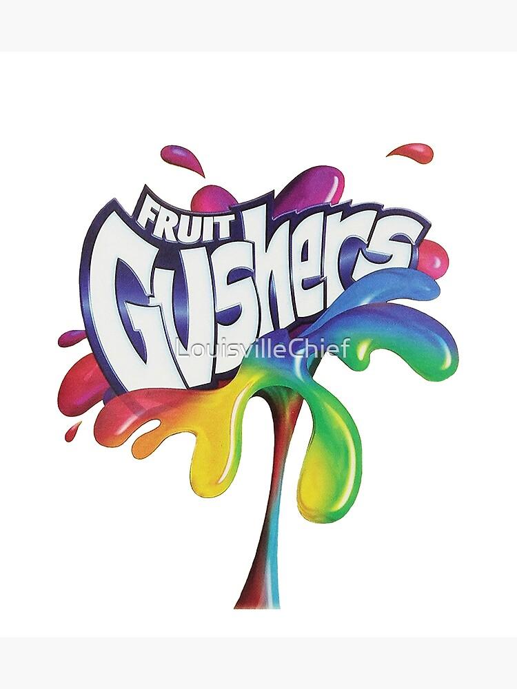 Fruit Gushers 90s logo by LouisvilleChief