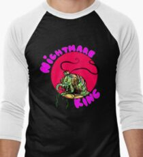 NIGHTMARE KING Men's Baseball ¾ T-Shirt