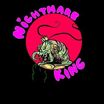 NIGHTMARE KING by mustachiosaurus