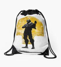 RAPTOR POSTER Drawstring Bag