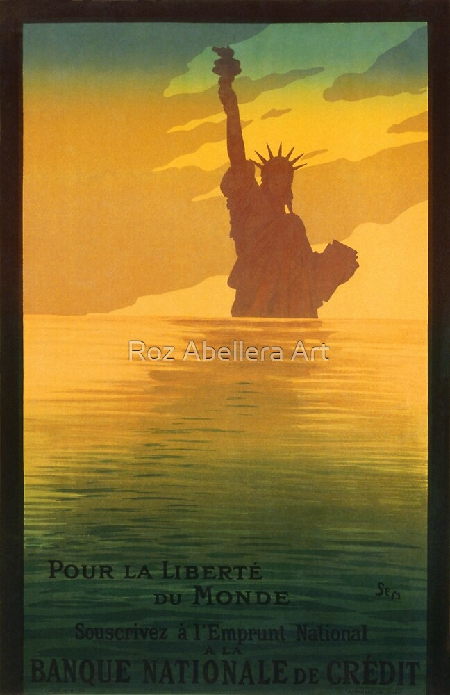 Statue of Liberty (Reproduction) by Roz Abellera
