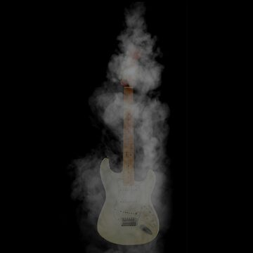 guitar smoke by tinncity