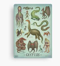 Cryptids Canvas Print
