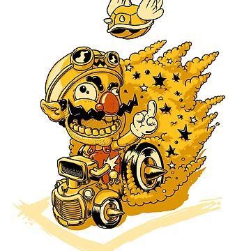 Wario Bugger Off!! by JoeyKnuckles