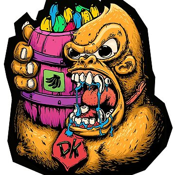 Trippy Kong by JoeyKnuckles