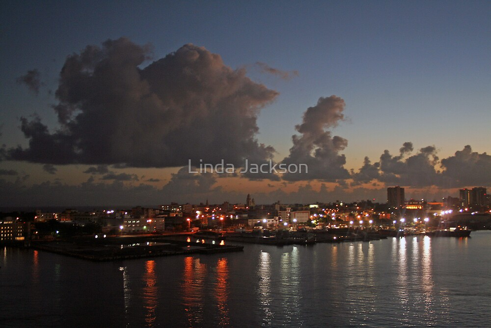 San Juan sunrise by Linda Jackson