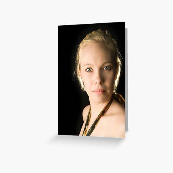 A cropped Brooke. Greeting Card