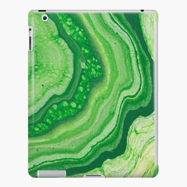 Green Geode Acrylic Pour iPad Snap Case