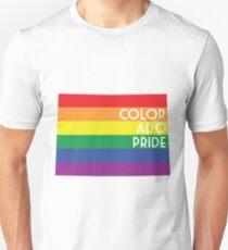 Colorado State Gay Pride Flag Unisex T-Shirt