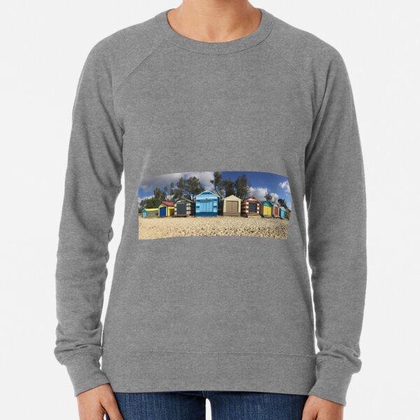 Dromana beach huts Lightweight Sweatshirt