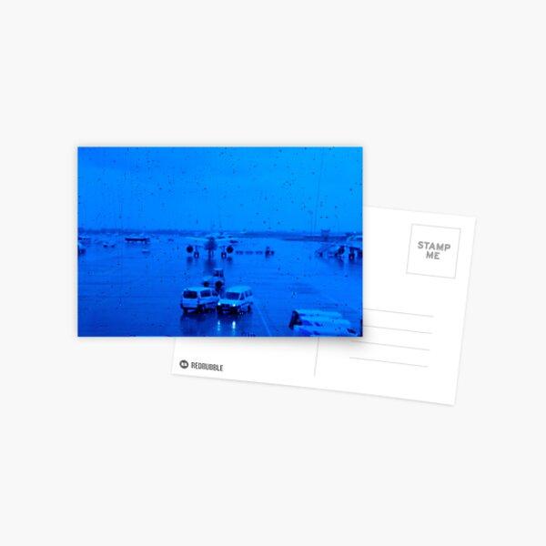 BCN 6128 Airport Postcard