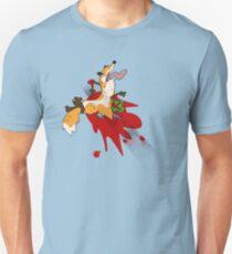 Flattened Fox  Unisex T-Shirt