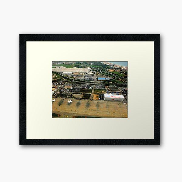 BCN 0194 Airport Framed Art Print