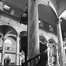 Inside of Andacollo's Main Church. by Francisco Larrea