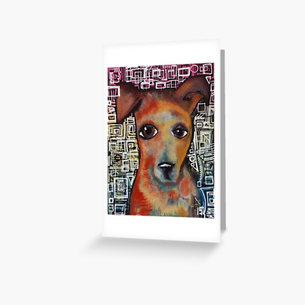 Cat's Dog Greeting Card