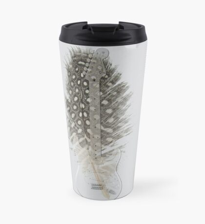 guitar feathers Travel Mug