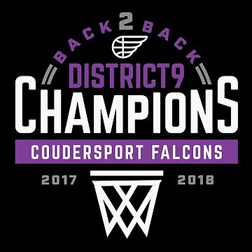 Coudersport Falcons District 9 Champions Basketball by yelly123
