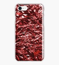 Metallic Red iPhone Case/Skin