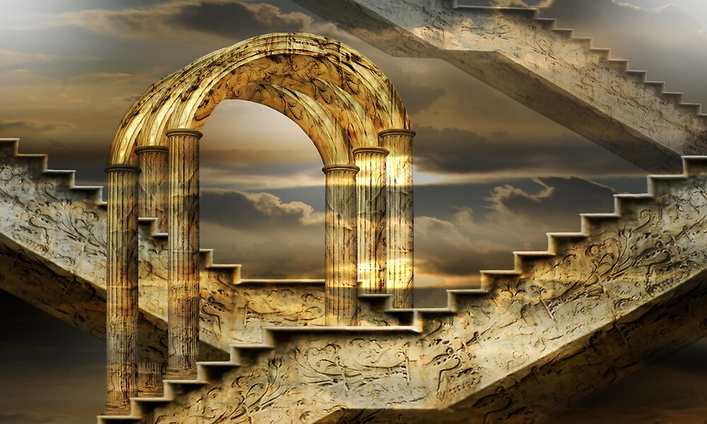 Arches of possibility by sattva