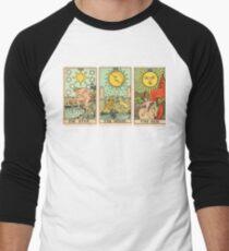 STAR MOON SUN Men's Baseball ¾ T-Shirt