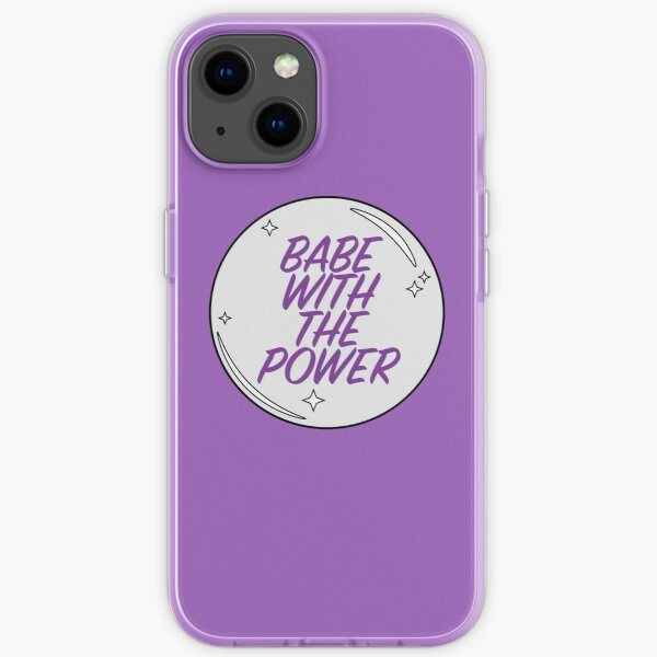 Babe with the Power iPhone Soft Case