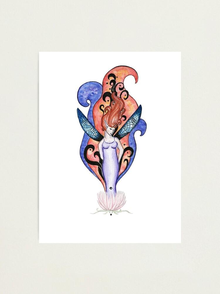 Alternate view of Rising Fairy  Photographic Print