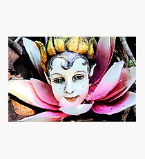 Garden Fairy Photographic Print