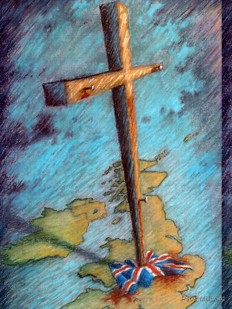 The Cross and the Union Jack by petermill